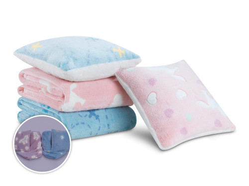 Set din cuvertura si perna pentru copii Warm Hug 2020