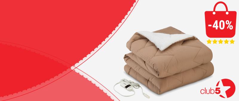 Plapuma electrica cu incalzire Warm Hug acum cu -40% REDUCERE!