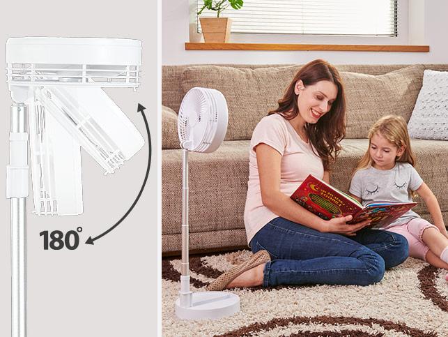 Ventilator portabil fara fir Rovus