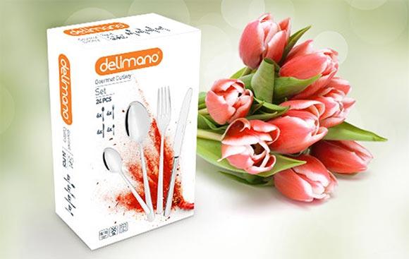Setul de tacamuri Delimano Gourmet