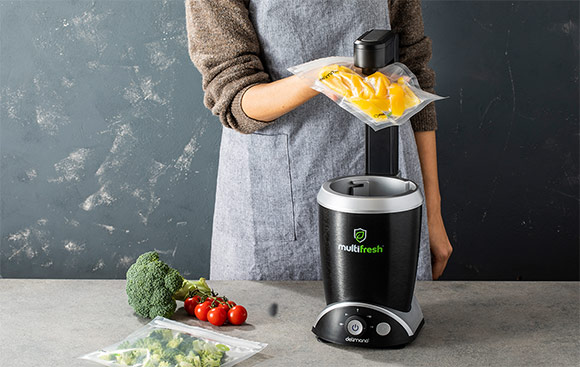 Blender cu mixare in vid Delimano MultiFresh