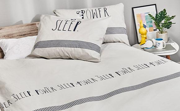 Set de lenjerie de pat Dormeo Meo