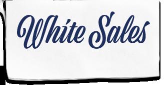 White Sales Logo